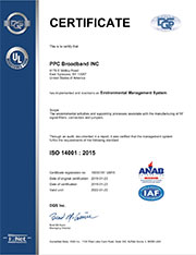 PPC-ISO certificate