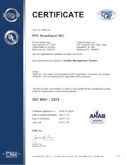 QM15 certificate