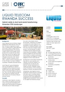 Liquid Telecom : Rwanda Success