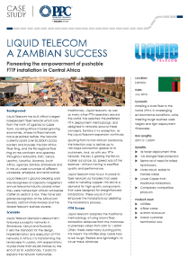 Liquid Telecom : A Zambian Success