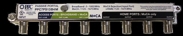 MoCA passive 7 port
