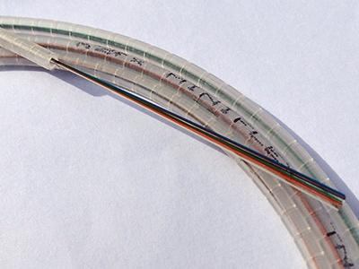 Clear Fiber Cables Miniflex