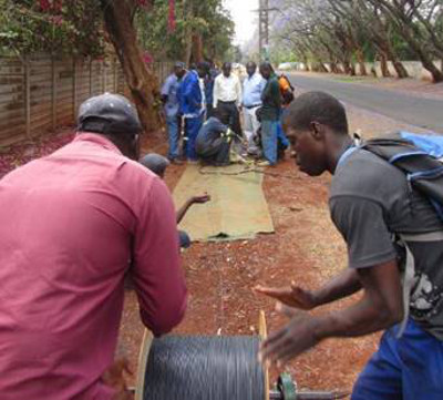 Africa fiber to the home