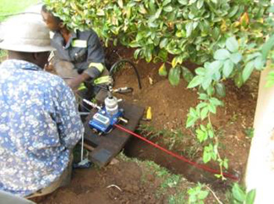 fiber to the home installation Africa