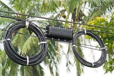 aerial fiber cable