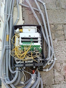 cable installations aesthetics