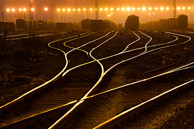 fiber for railroad