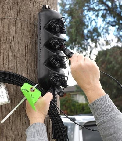 mechanics of aerial fiber cable