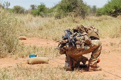 military skills in fiber projects