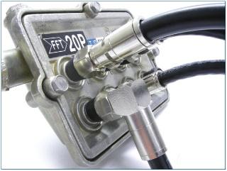 AquaTight connector application for broadband services