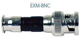 Mini BNC EXM Connector for broadband services