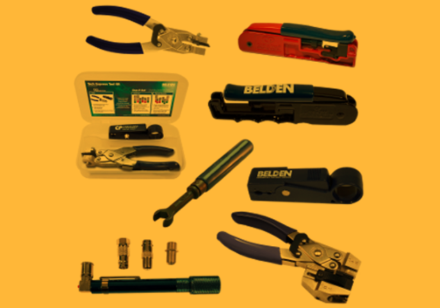 AV and Security Belden tools