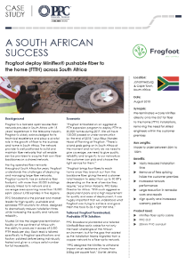 A South African Success : Frogfoot