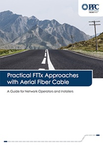 Practical FTTx Approaches with Aerial Fiber Cable