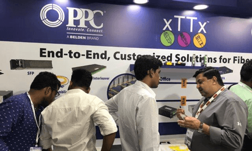 PPC showcases broadband connectivity solutions at SCaTINDIA 2018