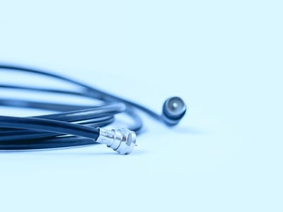 What is coaxial cable and how is it used?