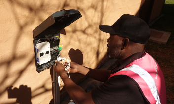 Over 250,000 African FTTH customers connected with Miniflex® fiber